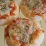 自家製酵母でピザパン