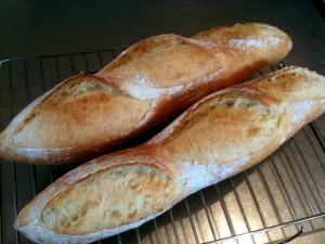 大成功!フランスパン