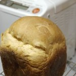 ホームベーカリーではちみつ食パン