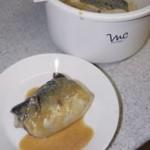 サバのみそ煮が4分で!電子レンジ料理。